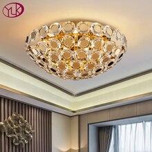 Youlaike 라운드 럭셔리 크리스탈 샹들리에 크리 에이 티브 디자인 조명 거실에 대 한 매력적인 매달려 램프 침실 현대 방