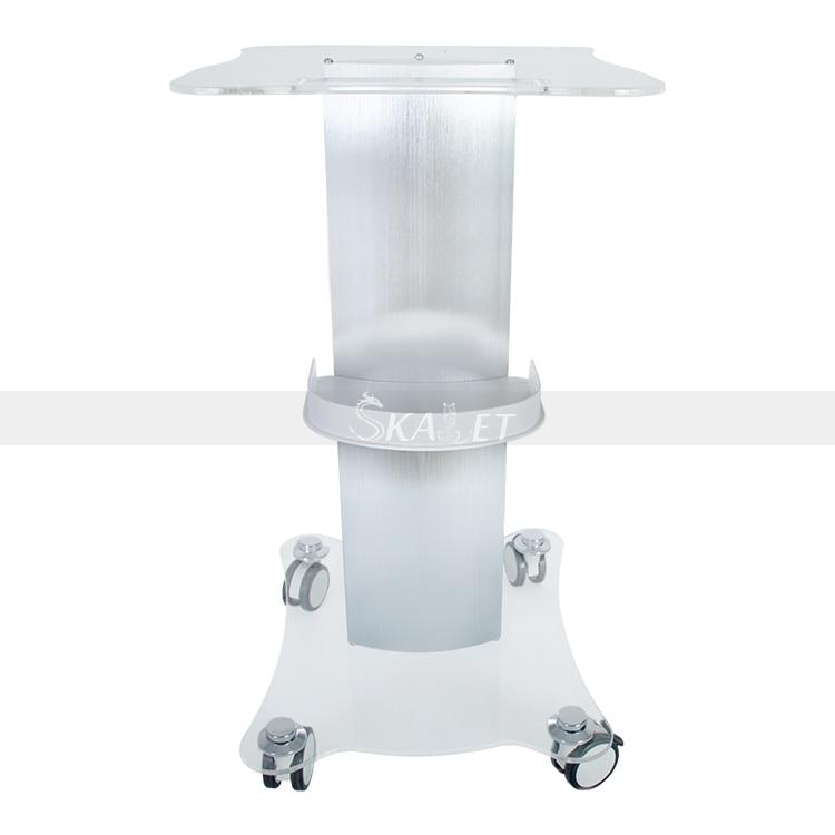 Piédestal de style de beauté de haute qualité assemblé support de chariot roulant de Salon de chariot dalliage daluminium