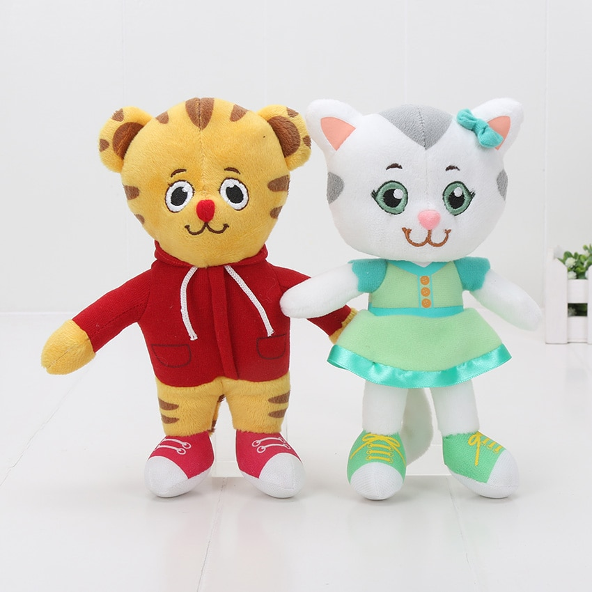 20cm Daniel Tigers Neighborhood Mini Stuffed Animals Daniel Tiger Plush Doll Stuffed Toy Baby Soft Toys for Children