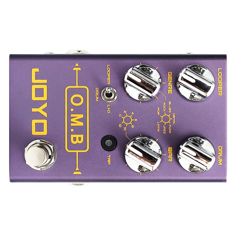 Joyo R-06 O.M.B  LOOPER +drum mode Guitar Effects  auto-align Count-In Guitar Parts Accessory Guitar Effects enlarge