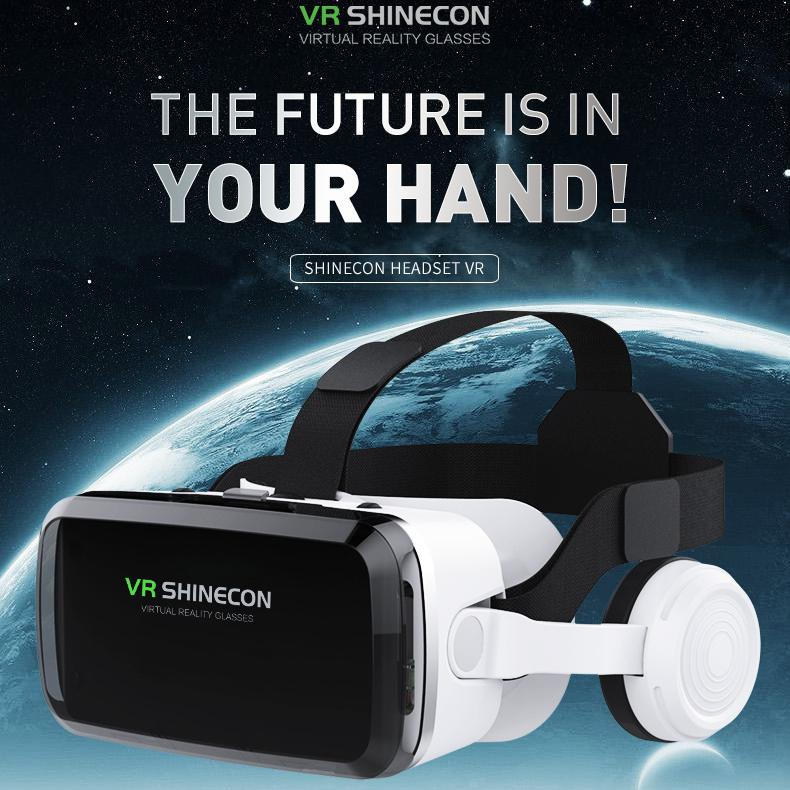 BEESCLOVER-نظارات الواقع الافتراضي متعددة الوظائف ، مع سماعة بلوتوث ، نظارات Vr مع سماعة رأس r57
