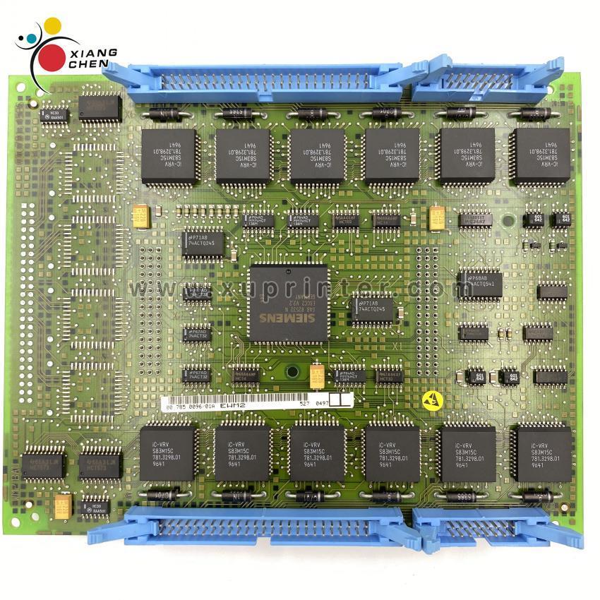 Placa de circuito QM46 00.785.0096 módulo plano EWM2 Flachbaugruppe