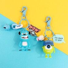 2020 Hot Q Version monstres Inc université Mike Wazowski porte-clés Sully figurine modèle porte-clés jouets poupées cadeau porte-clés
