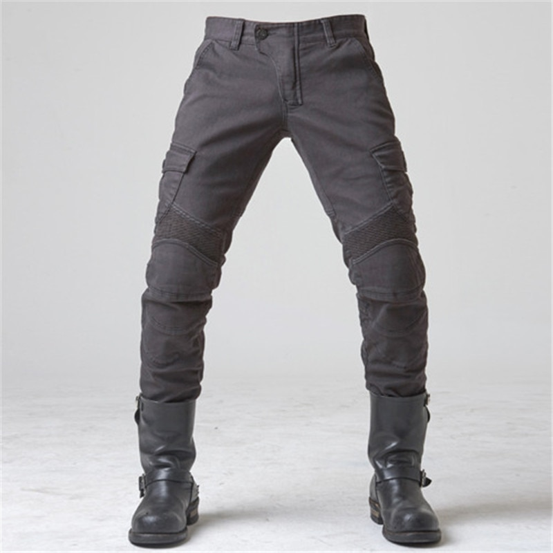 UGB06 Motorcycle Jeans Pantalones Motocicleta Hombre Featherbed Jeans Standard Version Moto Ride Trousers Pant Summer Riding