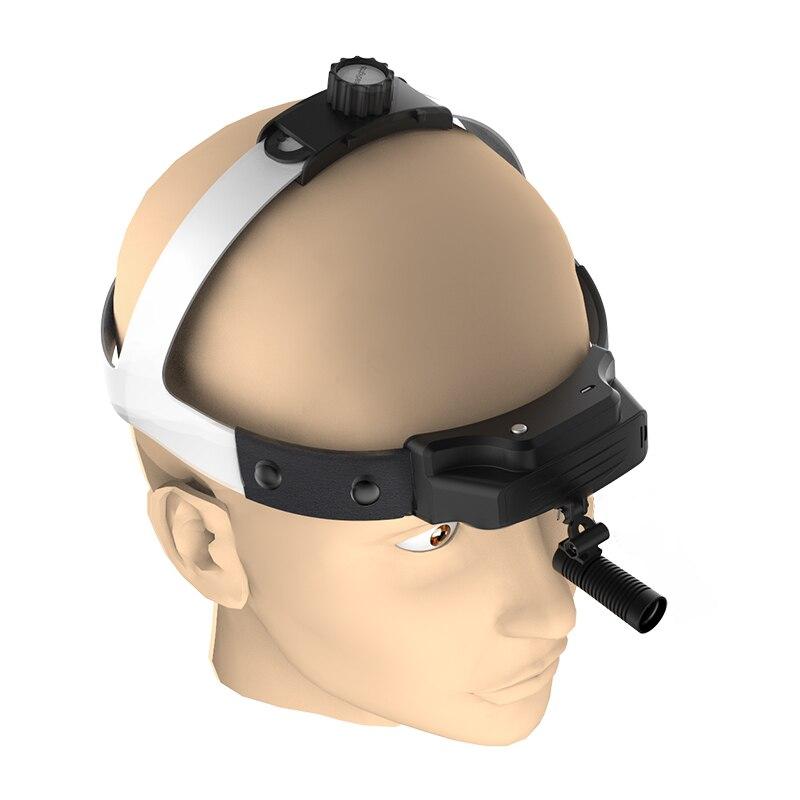 Hot-selling Model LED Headlamp Dental Medical Removable Built-in Battery High Intensity Lamp ENT Operation Headlight(TD-N08-F)