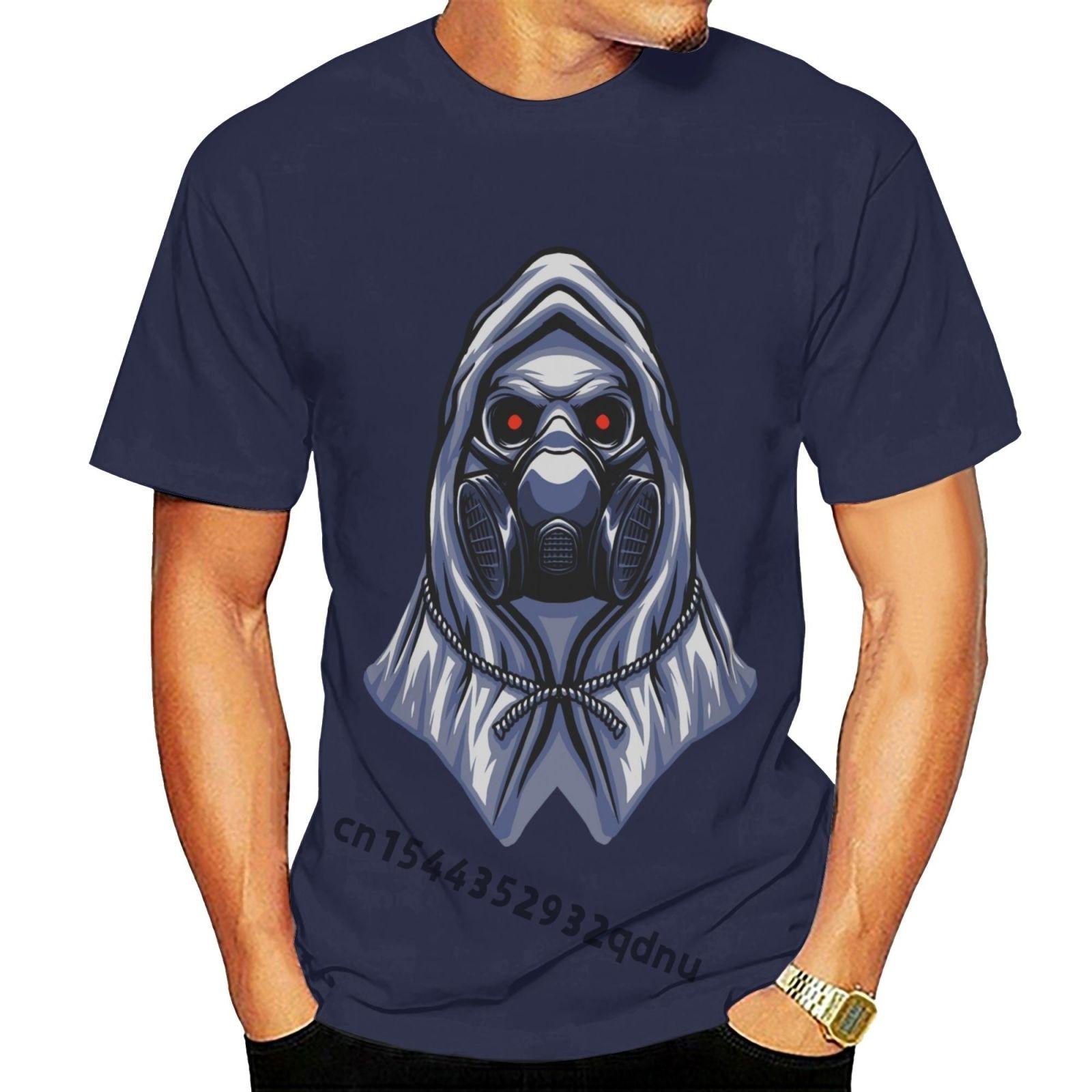 Забавная Мужская футболка, Мужская новинка, футболка-бомбер, Череп, талисман с логотипом, мужская и Мужская классная футболка