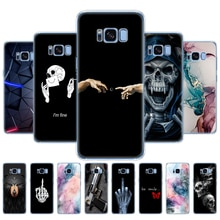 For Samsung Galaxy S8 soft silicon tpu S8 PLUS Case Cover For Samsung S8 S8 plus Phone shell protect