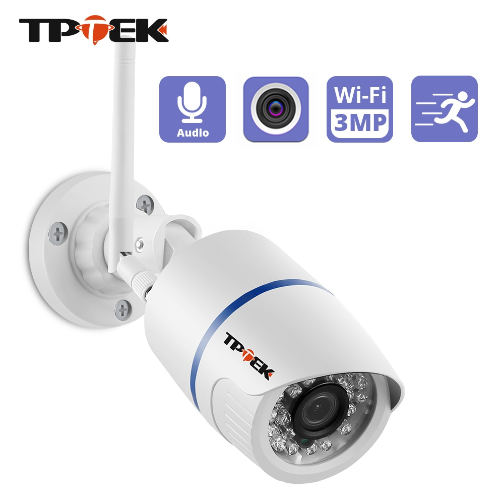 HD 1080P IP Camera Outdoor WiFi Home Security Camera 3MP Wireless Surveillance Wi Fi Bullet Waterpro