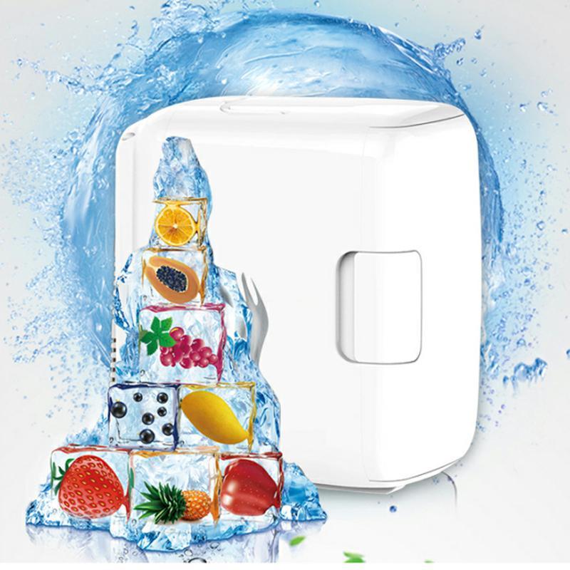 Portable 8L Car Refrigerators Cooling Heating Machine Box Fridge Mini Freezer 12V ABS Plastic Energy Saving Removable Fridge