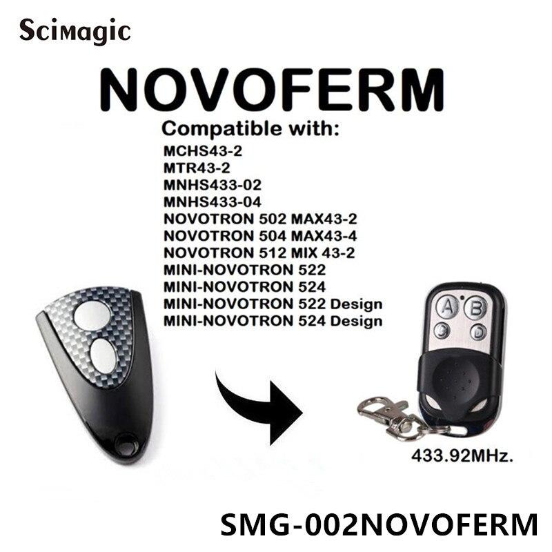 Новосферм новотрон 302/304, новосферм MNHS433-02/04 замена двери гаража дистанционного управления