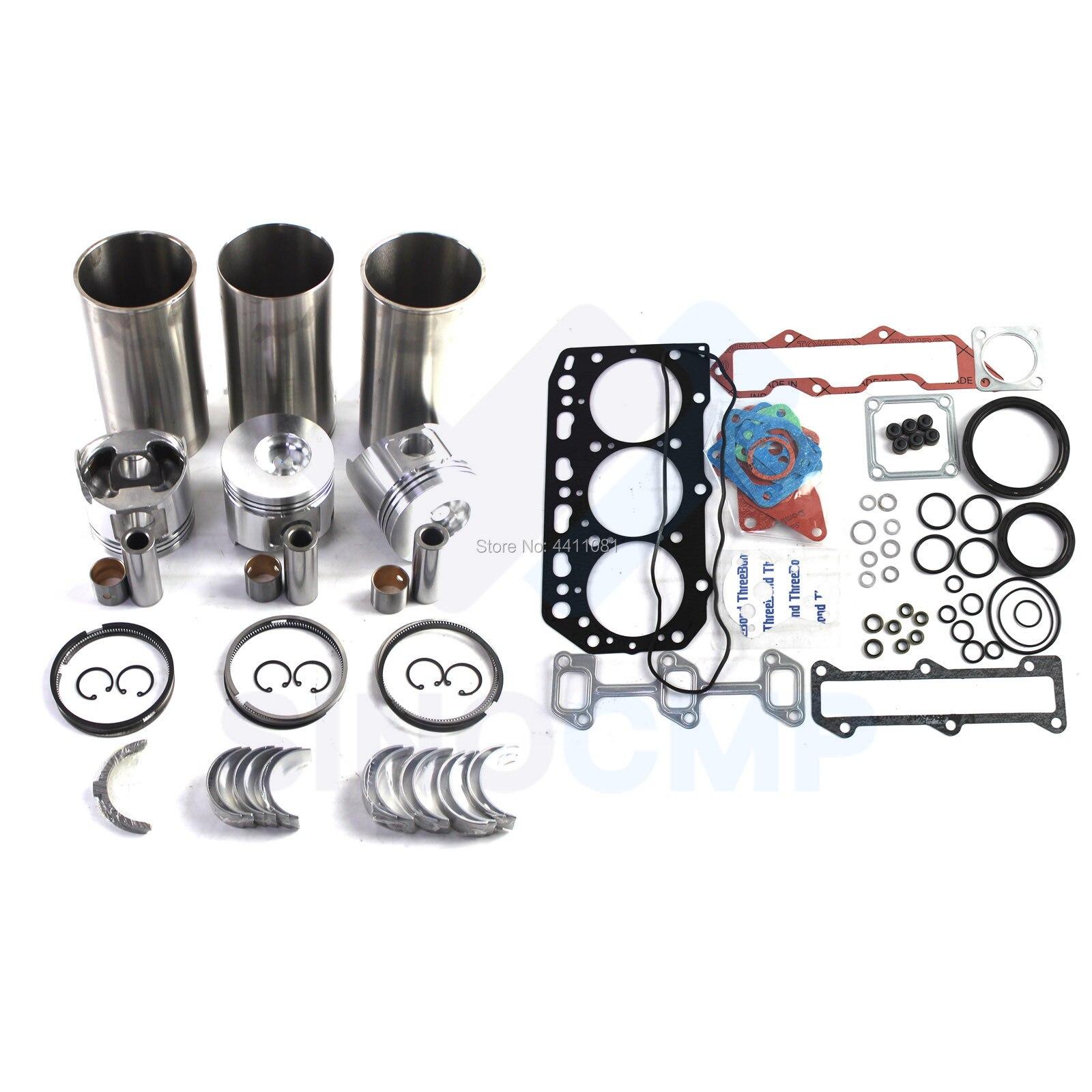 طقم تجديد المحرك 3TNV84 3TNV84T ، لجرار 3235C 3245C 3520