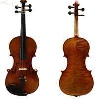 free shipping copy stradivari 1716 100 handmade oil varnish violin european woods fp05