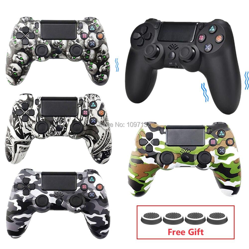 Ps4 sem fio bluetooth controlador para sony ps4 playstation 4 console dualshock4 joystick gamepads remoto