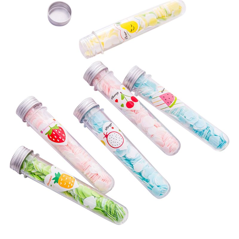 5 бутылок мини мыло бумажный лист в форме цветка одноразовые Ароматические Ломтики для путешествий Q0KD