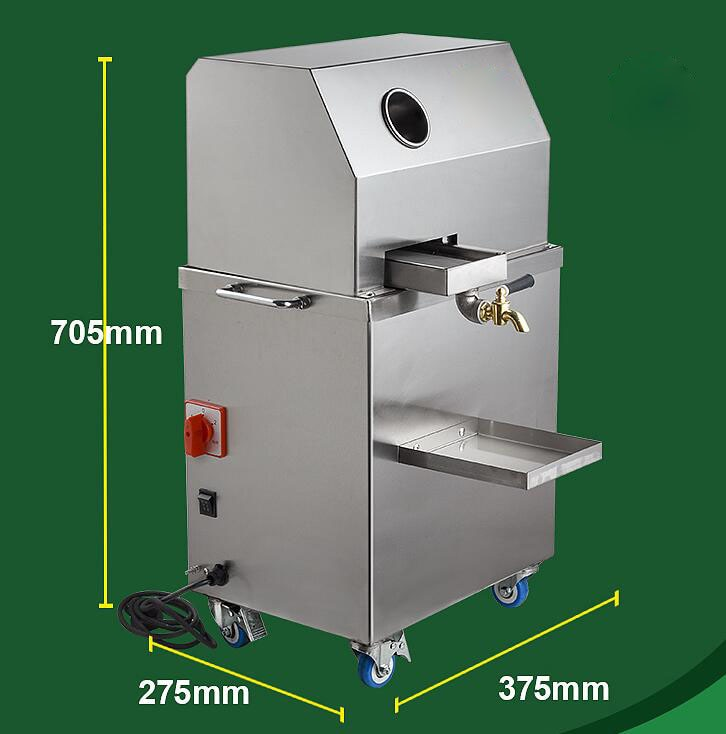 Sugarcane Juicer Commercial Electric cane press Battery/Plug in table type Vertical fully automatic Sugarcane press enlarge