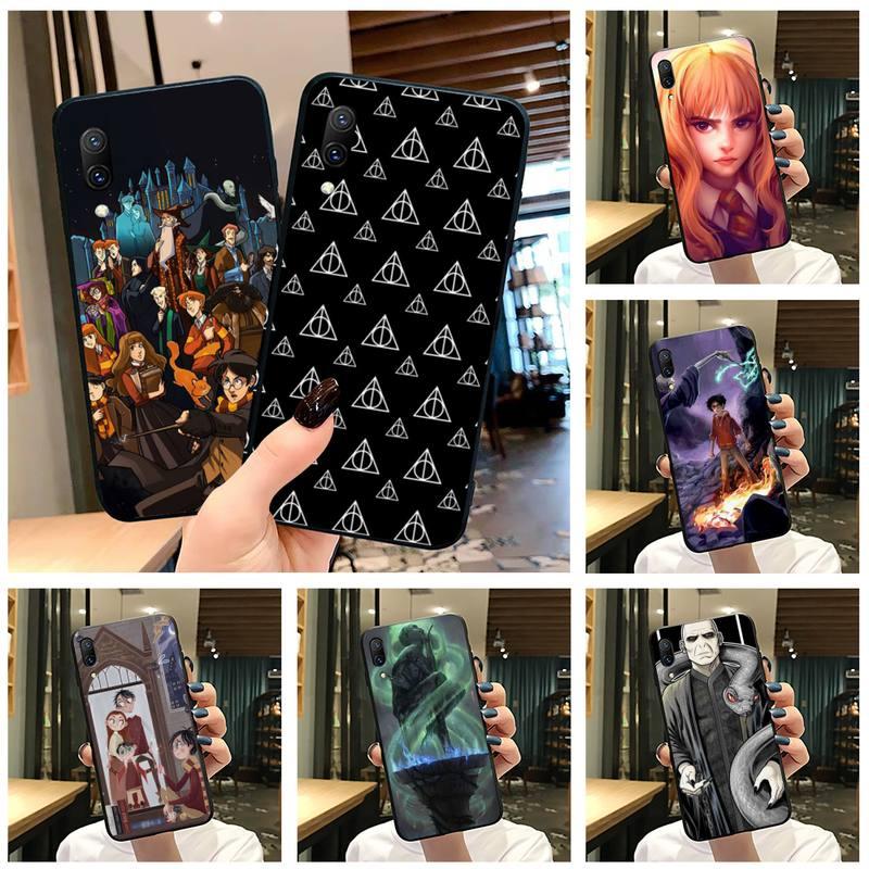 Siempre Hogwart Harries Potter diseño cómico teléfono caso Vivo Y91c Y17 Y51 Y67 Y55 Y7s Y81S Y19 V17 vivo s5