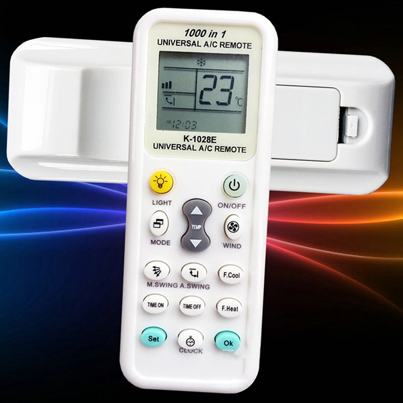 Universal Air Conditioner 433HZ LCD Remote Control Smart Home Digital Automatic Code Search Function With Clear LCD Display