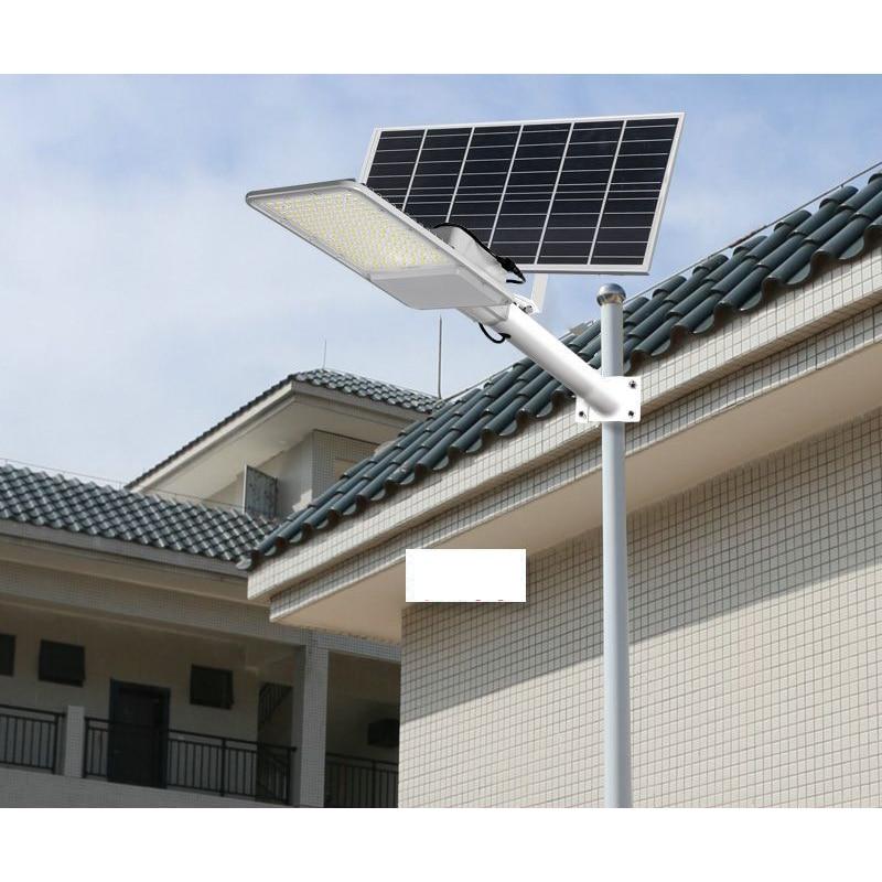 Led Street Light Outdoor Panel Solar Lamp Garden Bright Solar Flood Light Courtyard Lamp Remote Contorl Road Lighting
