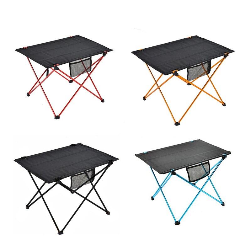 Portátil al aire libre mesa plegable para acampar ultraligero calidad de Camping plegable escritorio senderismo escalada mesa de Picnic sстол для пикника