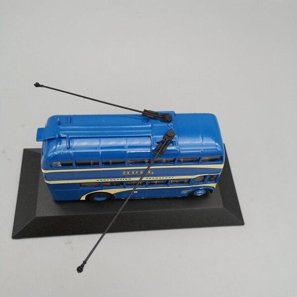 1 76 modelo de bonde de ônibus de dois andares de londres