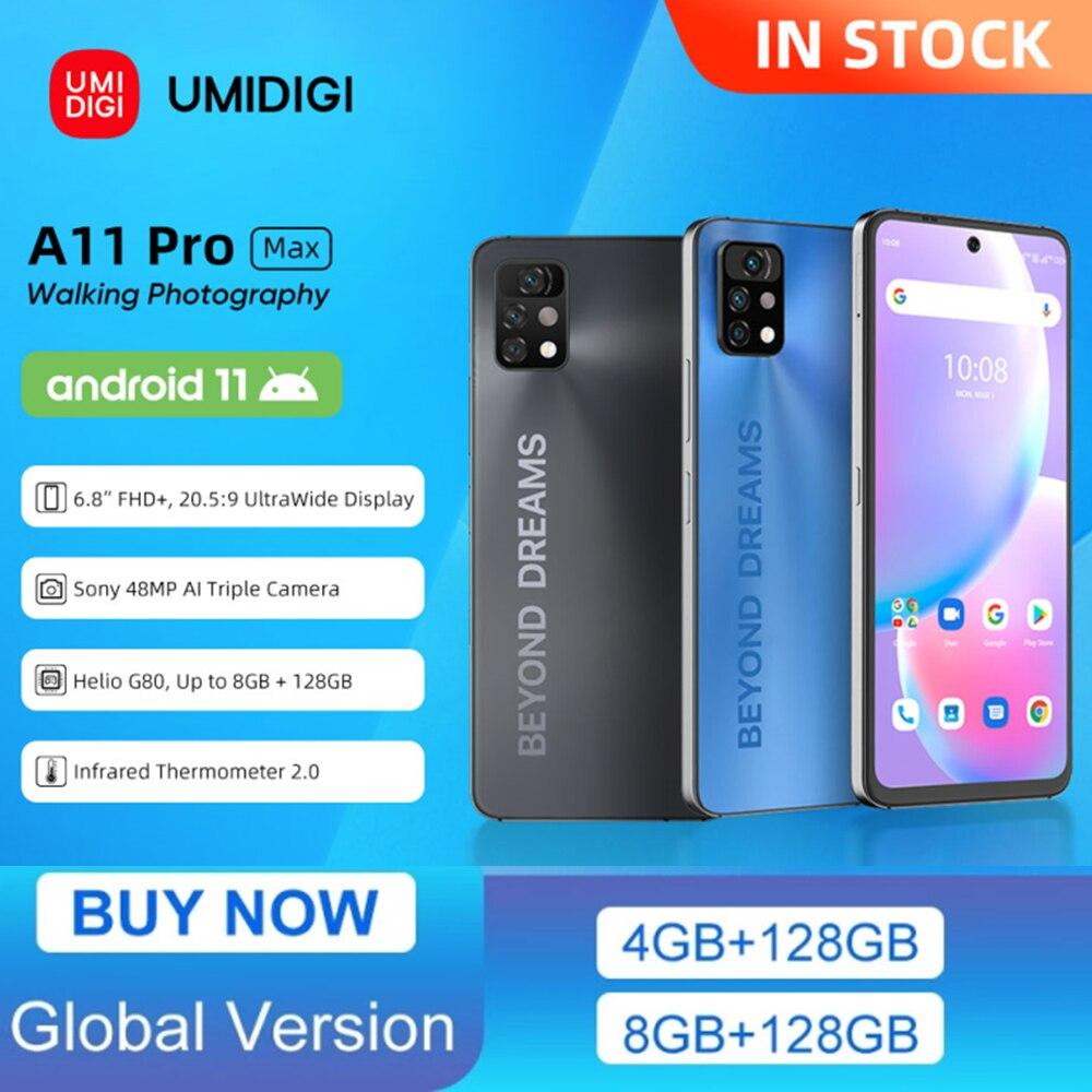 UMIDIGI A11 Pro Max Global Version 6.8