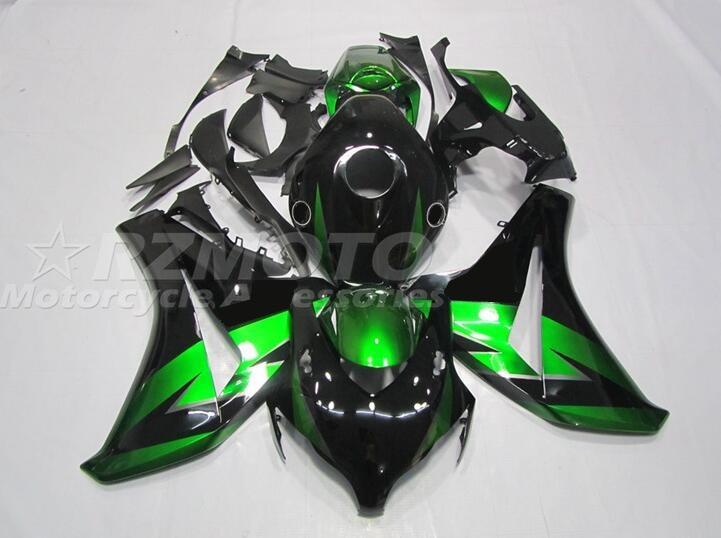 4 هدايا جديد ABS حقن دراجة نارية Fairings عدة صالح لهوندا CBR1000RR 2008 2009 2010 2011 08 09 10 11 هيكل السيارة مجموعة الأخضر