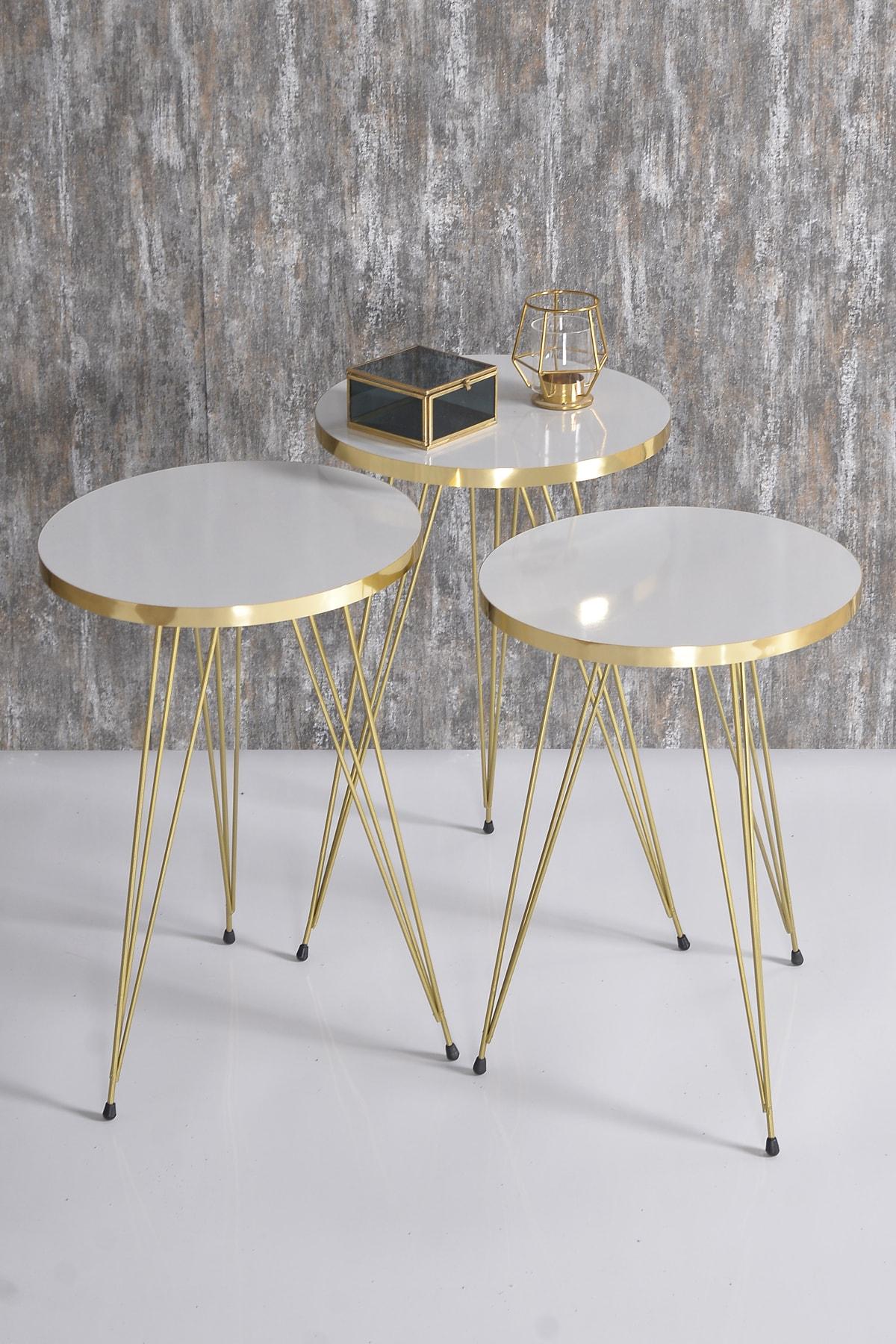 زيجون طاولة القهوة الذهب سلك أبيض طاولة القهوة طاولة القهوة المختلفة الذهب الساقين طاولة القهوة turkiyede المصنعة