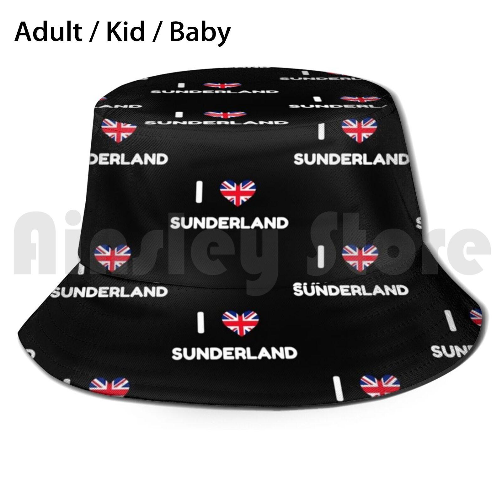 Sunderland , Uk Sun Hat Foldable UV Protection Sunderland Sunderland City Sunderland Sunderland Union Jack Uk Flag