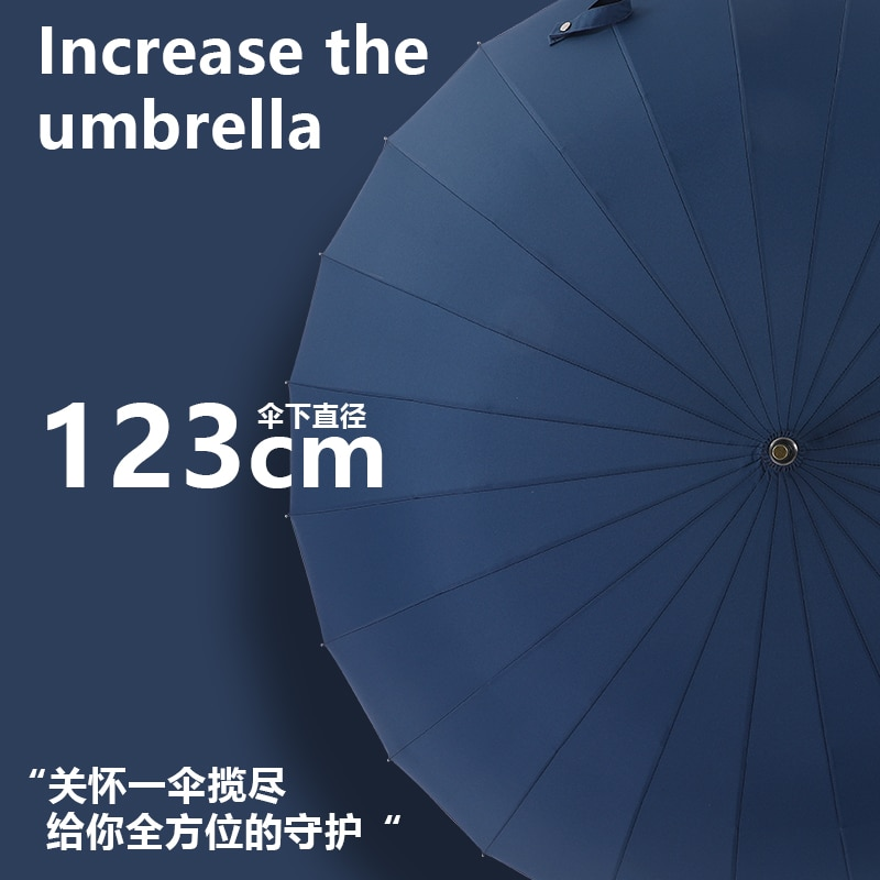Large Thicken Umbrella Men Automatic Business Large Waterproof Travel Outdoor Big Golf Umbrella Portable Home Products DA60YS enlarge