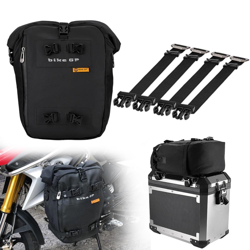 ل BMW F750GS F850GS Adv لهوندا CRF1000L أفريقيا التوأم دراجة نارية العالمي متعددة الوظائف حقيبة على ظهره للماء الذيل حقيبة