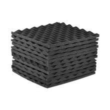 Qualité 12 Pack Studio mousse acoustique panneaux isolation acoustique mousse 30x30cm