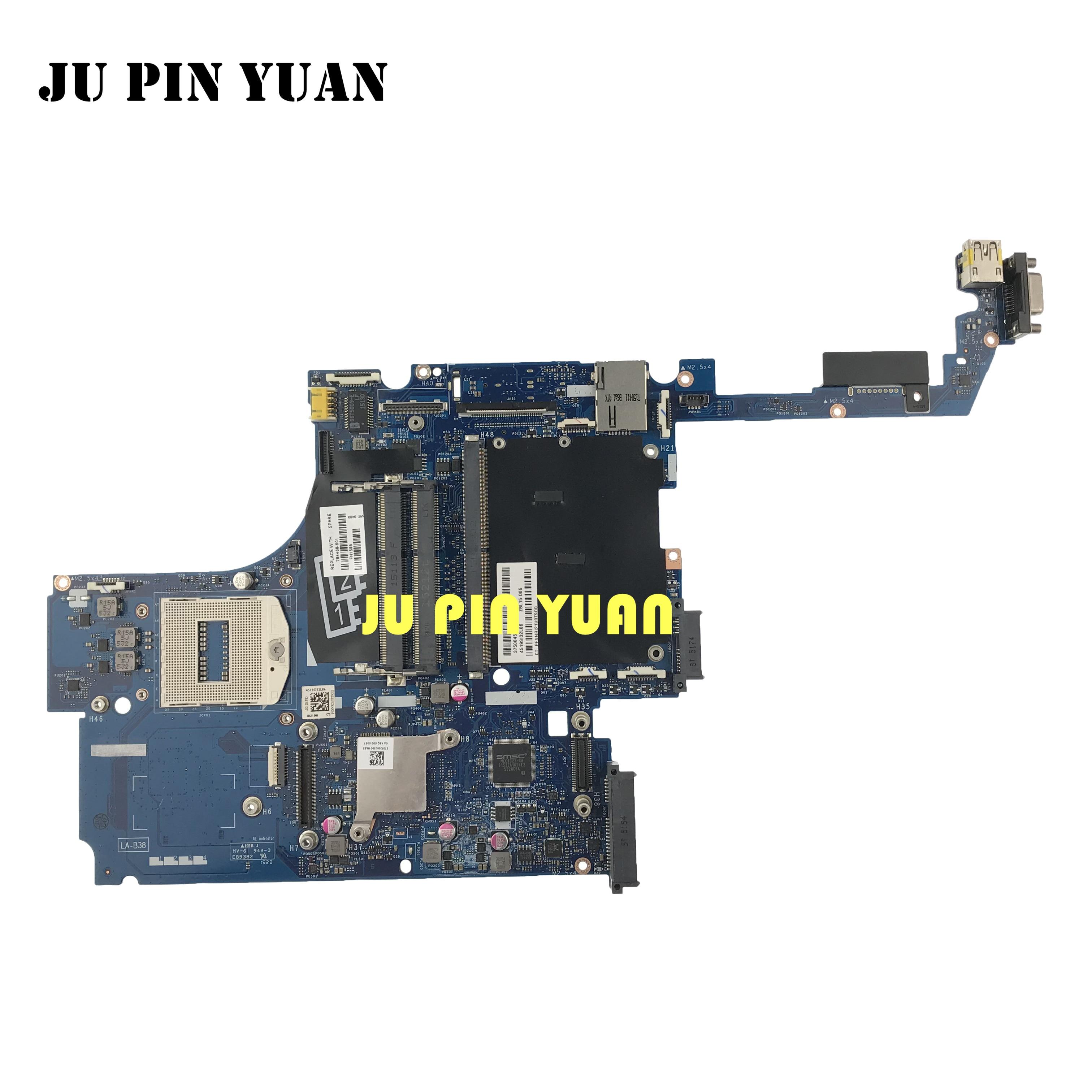 Placa base Ju pin Yuan 784468-601 784468-001 ZBL15 LA-B381P para HP ZBook serie 15 G2 PGA947 todas las funciones se prueban completamente