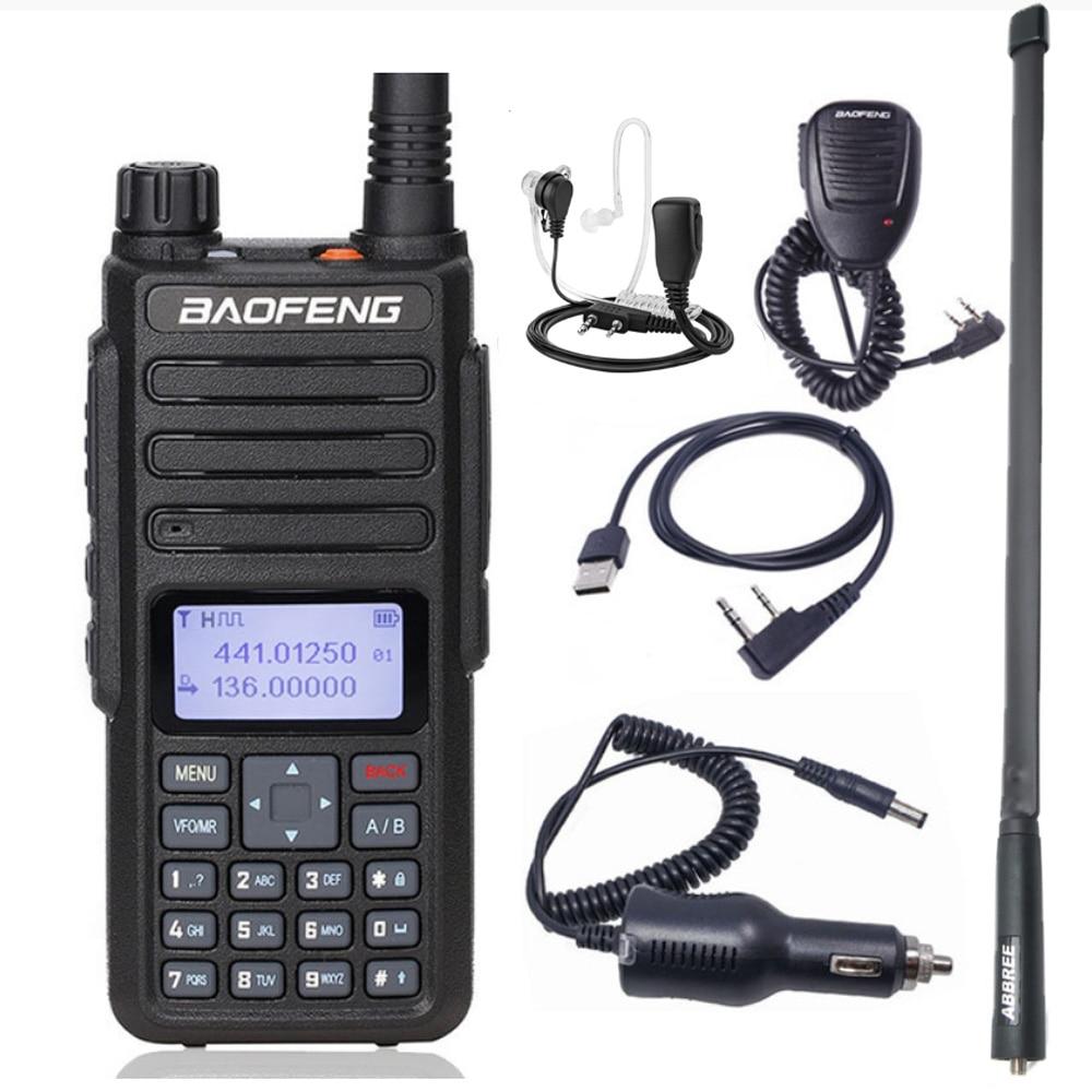 2021 Baofeng DM 1801 الطبقة 1 + 2 التوقيت المزدوج فتحة راديو اسلكية تخاطب ثنائي الموجات 136-174 و 400-470MHz Baofeng DM1801 الرقمية DMR راديو