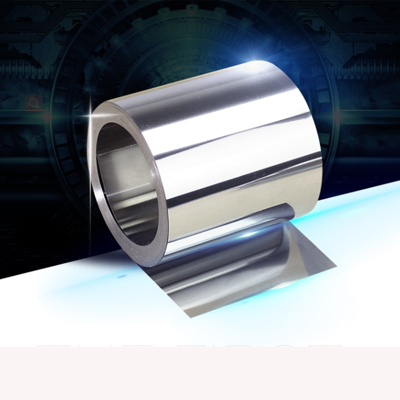 customized authentic 304 321 316 stainless steel col rolled bright thin foil tape strip sheet plate coil roll 1pc Stainless Steel Sheet 304 Metal Thin Foil Plate Shim Industry Home Materials for Metalworking Welding 0.1X300X2500mm