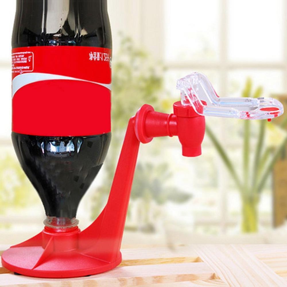 Atractiva botella de coque de Soda de ahorro de Material de aislamiento boca abajo máquina dispensadora de agua potable Gadget fiesta casa Bar