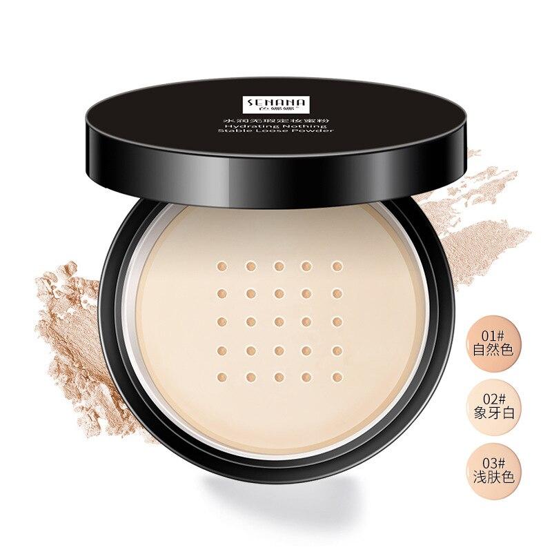 Senana hidratante nada estable maquillaje facial en polvo Natural belleza de la...