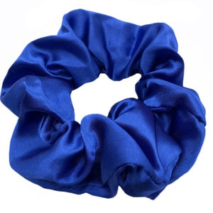 New 5PCS Satin Silk Solid Color Scrunchies Elastic Hair Bands Women Girls Hair Accessories Ponytail Holder Hair Ties Rope