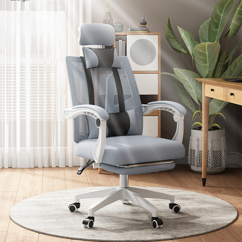 homall ribbed office chair mid back pu leather executive conference desk chair adjustable swivel chair with comfortable arms Ergonomic Chair Office Executive Swivel Chair Conference Chair Rotatable Height Adjustable Armrest Home Computer Chair 400Lbs