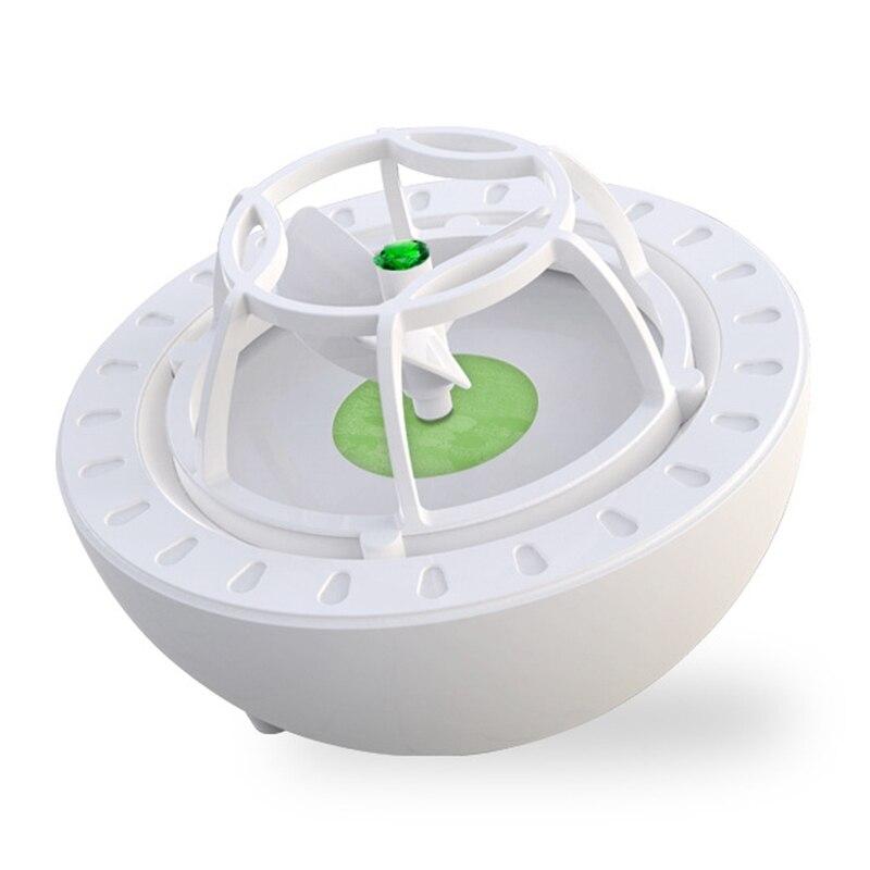 غسالة أطباق صغيرة محمولة مع شاحن USB ، غسالة أطباق فواكه وخضروات ، منظف مياه عالي الضغط ، أخضر