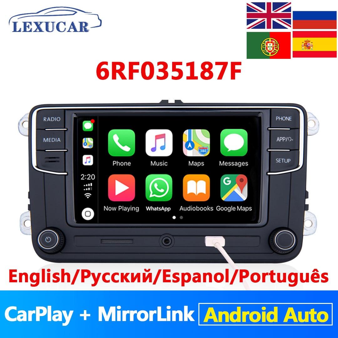 Lexucar-راديو السيارة RCD330 Plus ، Android ، Carplay ، MirrorLink ، NONAME ، 6RF035187F ، R340G ، لـ VW ، Tiguan ، Golf 5 ، 6 ، MK5 ، MK6 ، Passat ، Polo