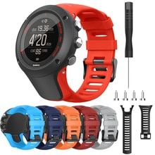 24mm Silicone Sport Replacement Watch Band For Suunto Ambit 3 / Ambit 2 / Ambit 1 Smart watch Wrist