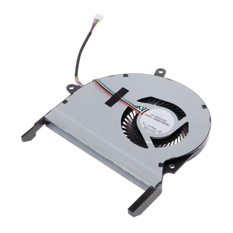 CPU Cooling Fan Cooler 5V 0.4A for Asus X401 X401A X401A-BC X401A-BH X401A-HC X401E X401EI KSB0705HB CA29 10166