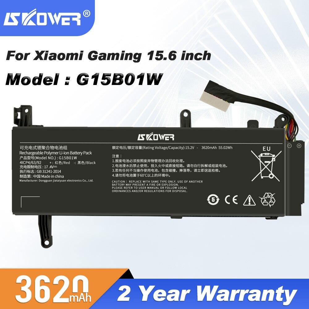SKOWER-بطارية G15B01W لأجهزة الكمبيوتر المحمول Xiaomi ، 15.6 بوصة ، i5 7300HQ GTX1050 GTX1060 1050Ti/1060 171502-A1 ، 3620 مللي أمبير ، أدوات مجانية