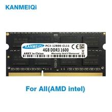 KANMEIQi DDR3 2GB 4GB 8GB Notebook RAM DDR3L 1333 1600MHZ 1866MHz 1.35v 204pin laptop geheugen sodimm Nieuwe 2G 1.5V