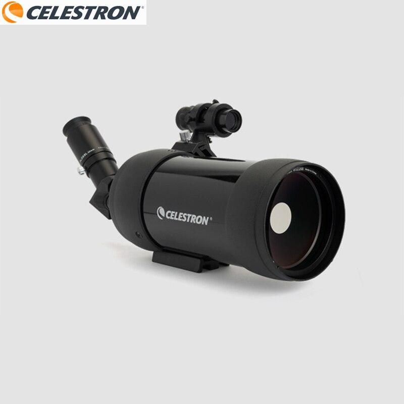 Telescopio astronómico para ver la luna Celestron C90 MAK porro Bak4, Prisma, caza, foco, Monocular