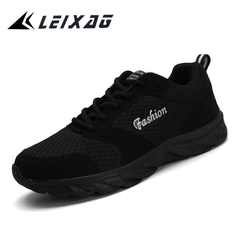 LEIXAG zapatos para caminar para hombres y mujeres, calzado deportivo de malla para correr, zapatillas de trabajo, zapatos transpirables, zapatos ligeros para parejas, tamaño 35-46