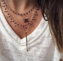 Joyería cz negra de moda, collar con colgantes de cadenas, collar de color oro rosa de joyería 925 con cabeza de Calavera, collar con cierre de camarón