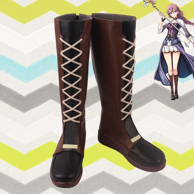 أزياء تنكرية للجنسين ، أحذية ، أحذية مصنوعة حسب الطلب ، أنيمي كوسبلاي إيما ميليشتاين