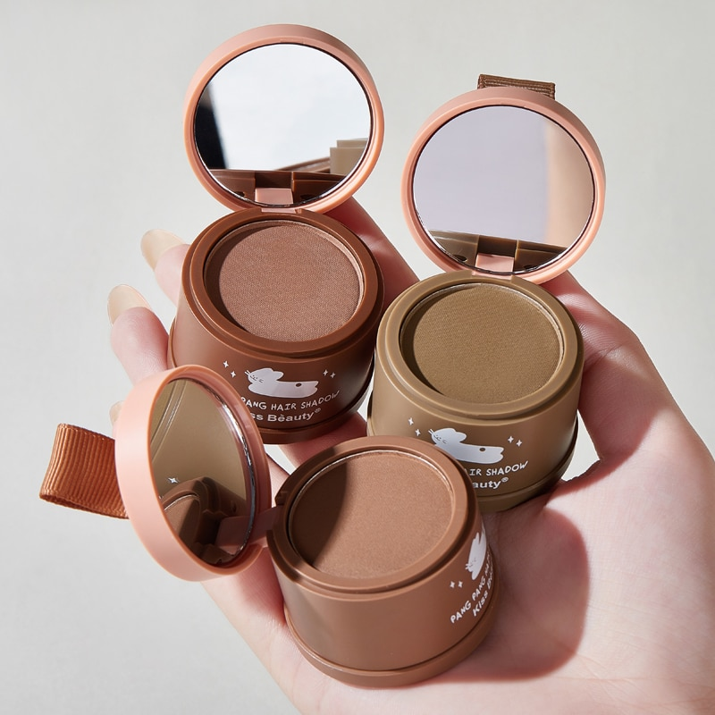 Hot 3 Color Natural Hair Shadow Powder Fluffy Hair Line Shadow Makeup Concealer Root Cover Up Covera