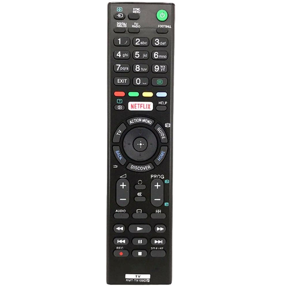 Para Sony netflix TV Control remoto para sony RMT-TX100D RMT TX100D NETFLIX TV rmt tx100d Fernbedienung